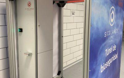 LCFG instala túneles de bioseguridad anti COVID en sus empresas