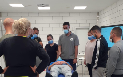 PRL in LCFG: training in postural hygiene adapted to the workplace in the meat sector